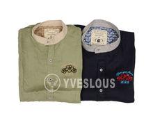 2014 hot sale mens linen shirts wholesale short sleeve shirt for mens