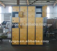 Practical Knock Down Structure Lockable Steel Shoe Storage Locker