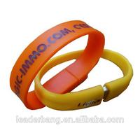 new product Promotional bracelet pen drive