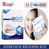 teeth whitenig strips for night use, bleach bright whitening teeth