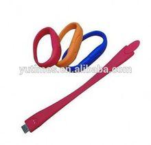 Free sample low price wholesale hand band usb flash drive
