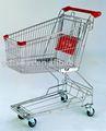Supermercado carrinho de compras carrinho de carrinhos de compras de supermercado de metal de ferro