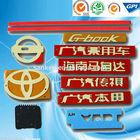 Custom 3M adhesive car sticker,car logo.