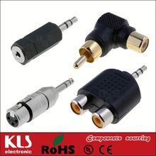 xlr male 3 Pole Adaptor Connector UL CE ROHS 130
