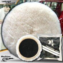 7'' Wool Pad Buffing pad for polishing Car