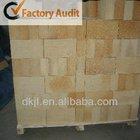 Low porosity refractory fire brick