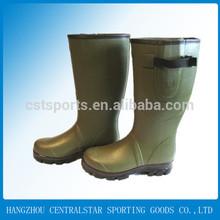 dark green men rubber boots rain all sizes 2208N