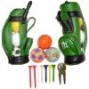 Mini golf tee holder bag