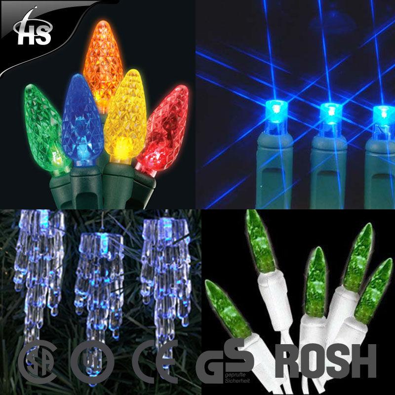 UL CE GS christmas led string lights