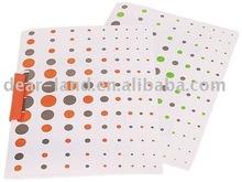 Oscilación Clip de carpeta carpeta de archivos PP A4 de bloqueo de giro de informe