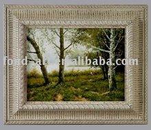 Oil painting frame