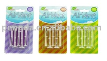5pc car vent clips cheap car air freshener