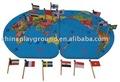 crianças mapa do mundo