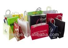 paper packaging bag,craft paper bag,recycle paper bag