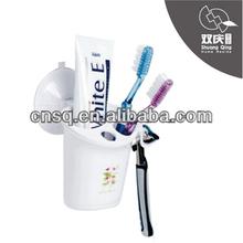 Cepillo de dientes de plástico del sostenedor del soporte con fuerte lechón