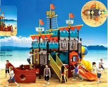 Park Beach Children playground Equipment Water Slide for Sale