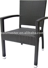 Outdoor Alum PE Wicker Chair