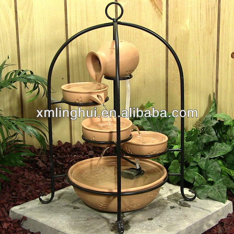 enfeites de jardim solar : enfeites de jardim solar:de resina de fonte solar jardim decoração-Outros ornamentos para