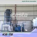 Tube de glace icesta 50tons/day design compact usine de fabrication