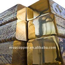 Continuous casting brass ingot CuZn39Pb1AlB-B