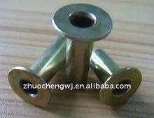DIN7340 flat head tubular rivet