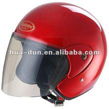 HD good quality open face helmet, red women helmet, HD-50X
