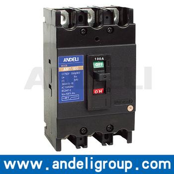 AM7 Series 3p 100a mccb Moulded Case Circuit Breaker