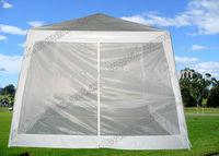 Portable Enclosed White PE Shade Canopy