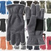 men polar fleece gloves