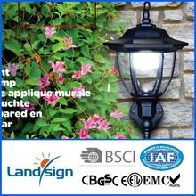 PIR sensor solar garden lighting