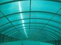 dom pc tragaluz de policarbonato para techos utiliza azul hoja hueco del policarbonato