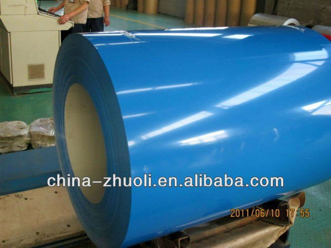 PPGI / PPGL/color coated steel/prepainted galvanized steel coil DX51D from China