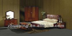 New classic elegant bedroom sets wooden design ZOE02#