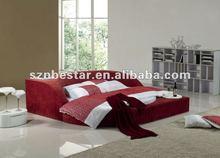 bedroom furniture set modern bed ,leather bed,pu bed