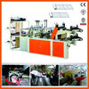 Plastic Carry Bag Making Machine Hot Cutting Automatic DFR-E700 T-shirt Plastic Shopping Bag Making Machine