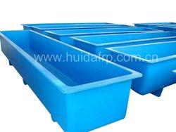 Glass fiber fish farm stock tank