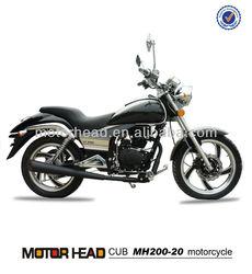 200cc motocicleta made in china chopper motocicleta