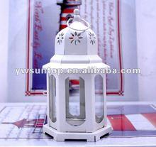 white candle holder Mini Lantern Favors wedding decoration