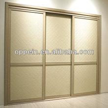 OPPEIN Built-in Laminate Sling Door Modular Bedroom Wardrobe