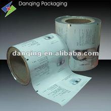 plastic laminated Auto packaging film for skin cream