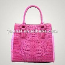 Luxury Crocodile lady bag, shoulder bag- exotic handbag_crocodile bag