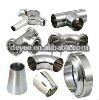 Stainless steel sanitary fittings(elbow/tee/cross/reducer/pipe holder/union)