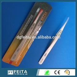 In stock ! E-cig accessories Hand tool heat resistant ESD stainless steel ceramic tweezers