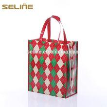 High Quality cheaper purple non woven shopping bags
