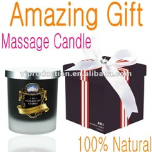 Luxurious cocoa and shea butter Massage Candle with the delicate fragrance of sweet and aromatic Scottish Honey Blossom MG8093S