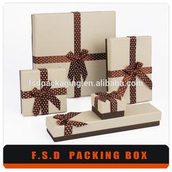 Luxury Handmade Cutomized Packaging Kraft Paper Box