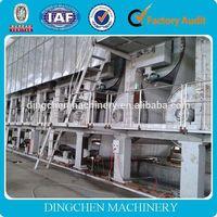 2014 Dingchen Main product 1800mm Craft Felt Paper / Paper Processing Making Machine