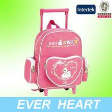 Trendy Trolley School Bag for Girls