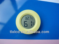 Small round digital electronic warehouse hygrometer with thermometer function(TL8048)