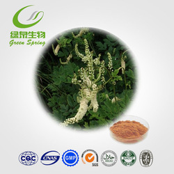 100% Natural Black Cohosh Root Extract Powder,black cohosh powder